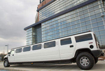 Rent a stretch Hummer for your wedding day!